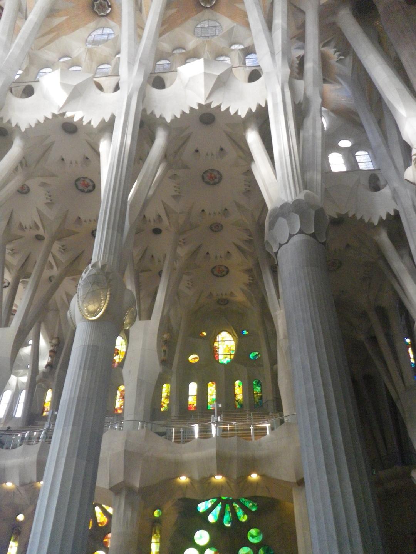 Säulenhalle Sagrada Família    © kw