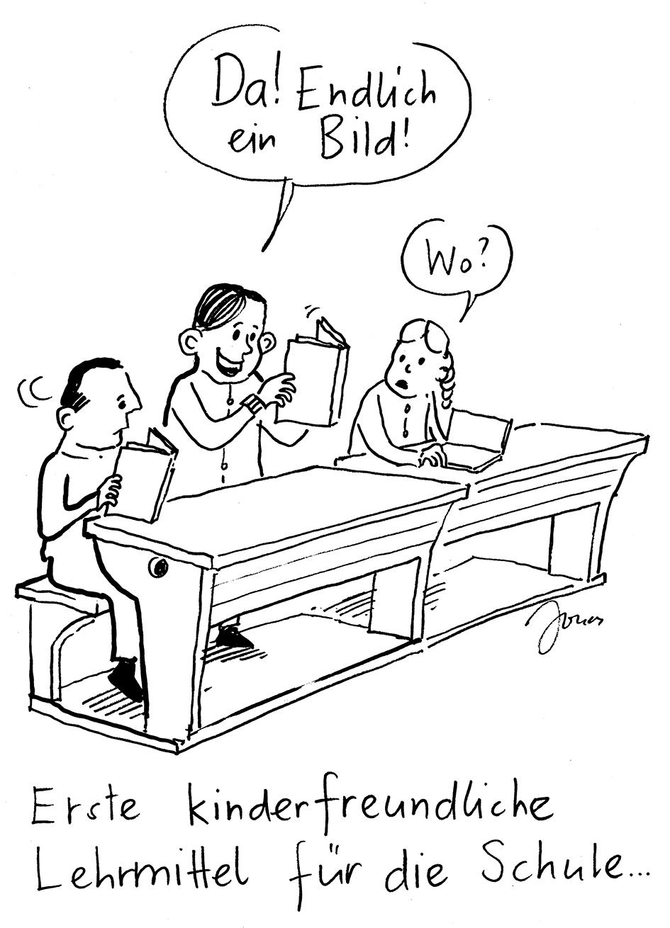 Erste Lehrmittel © Jonas Brühwiler