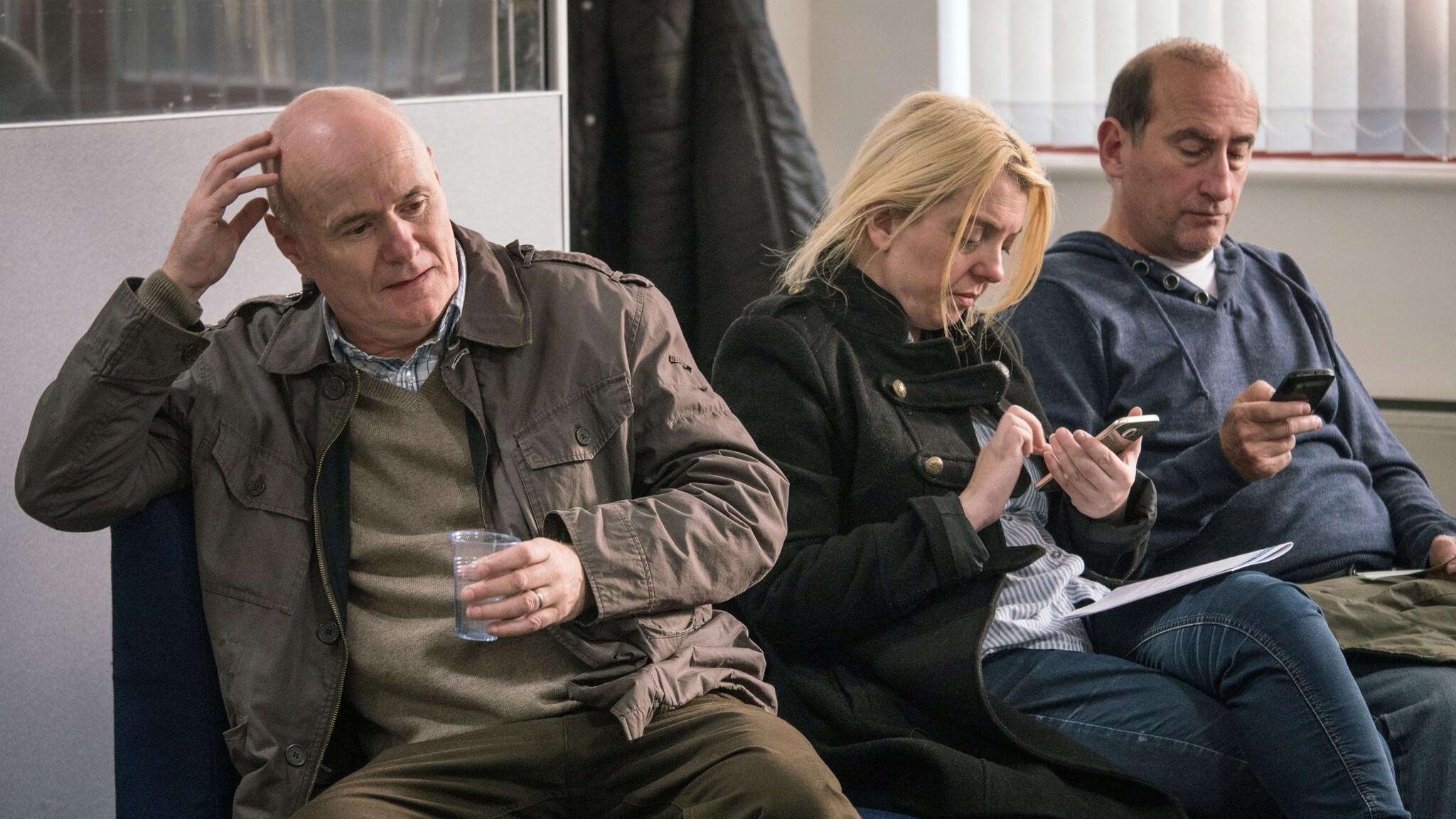 I, Daniel Blake (Kinotipp)   Still «I, Daniel Blake»: Warten auf dem Amt   © Filmcoopi Zürich