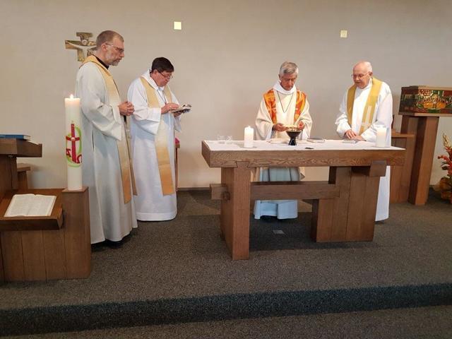 Baar 2018-S.Messe in der Kapelle Eckstein