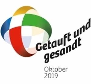 Getauft und gesandt - logo 2019