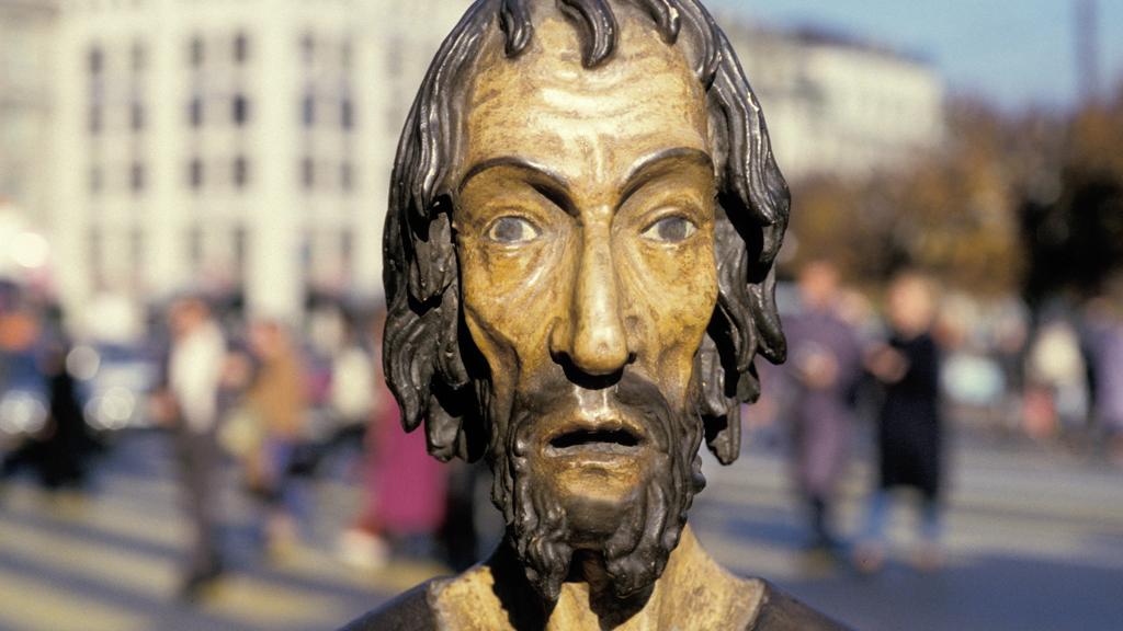 Statue des Niklaus von Flüe