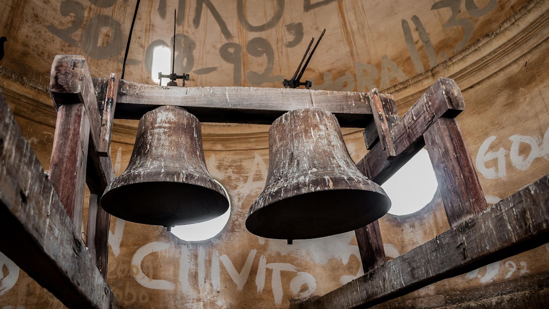 Glocken in der Basilika in Chiquinquira