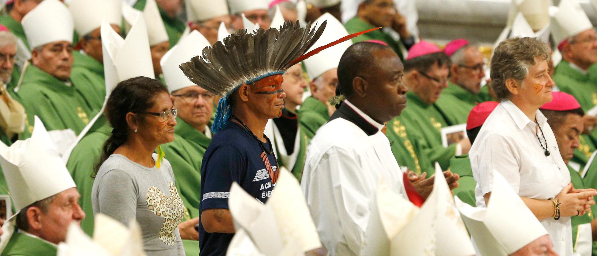Gottesdienst an der Amazonas-Synode | ©KNA