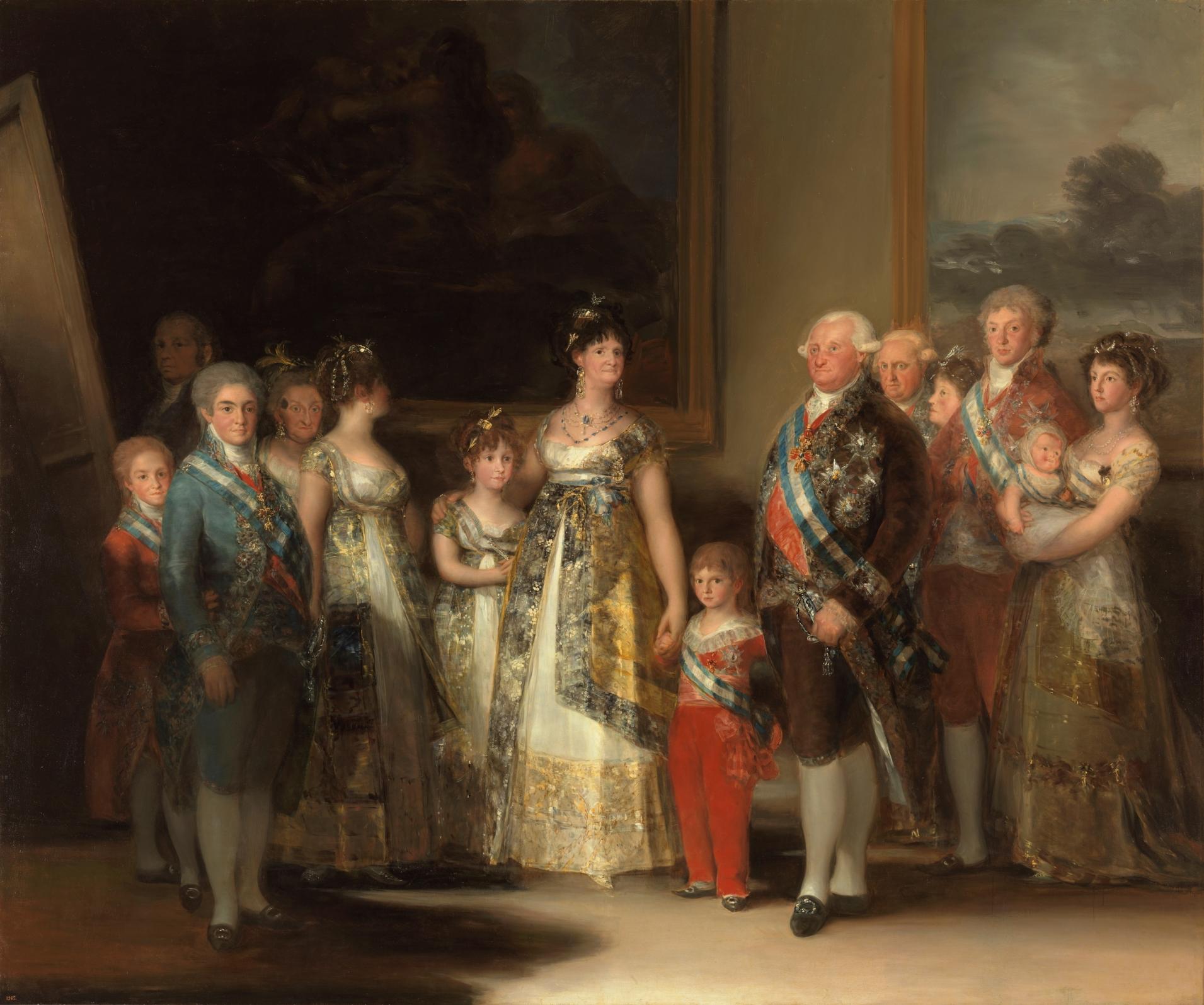 """""""La Familia de Carlos IV"""" von Francisco de Goya"""